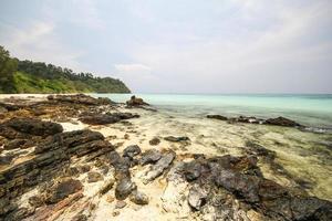 ilha de rok, koh rok, província de trang, tailândia