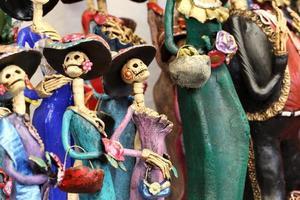 simbol mexicano do dia da morte foto