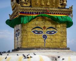Swayambhunath Stupa em Katmandu