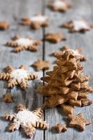 árvore de biscoitos de natal