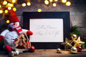 fundo de férias de natal de arte foto