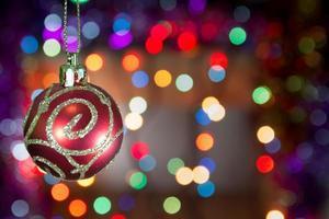 fundo de feriado de natal foto