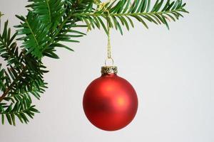 Weihnachtskugel foto