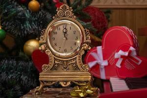 relógio de natal