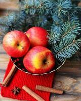 maçãs de natal
