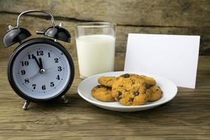 biscoitos para o papai noel foto