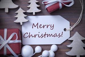 etiqueta árvore presente feliz natal