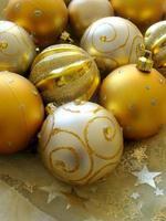 bolas de natal foto