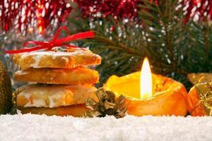 Biscoitos natalinos. foto