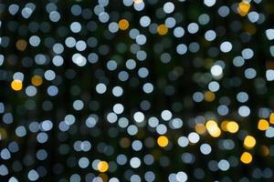 fundo de bokeh de natal foto