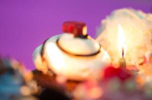 cupcakes de aniversário foto