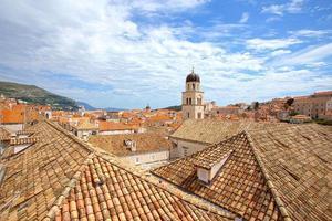 os telhados de dubrovnik foto