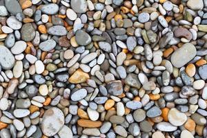 fundo de pedras do mar foto