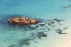 praia da ilha de lipe em satun, tailândia foto