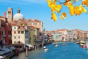 grande canal, veneza, itália