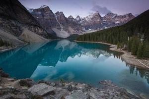 moraine lake, parque nacional de banff