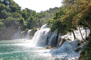 Parque Nacional Krka na Croácia