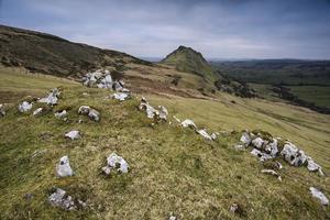 paisagem de chrome hill e parkhouse hill no distrito de Peak