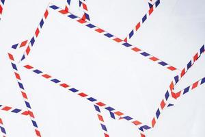 envelope de correio aéreo foto