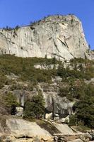 granito no parque nacional de yosemite