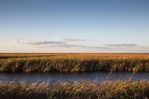 Everglades National Park ao pôr do sol