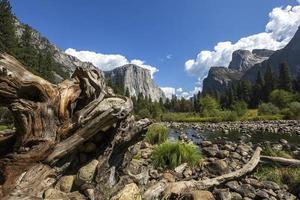 vale de yosemite, parque nacional de yosemite, califórnia, eua