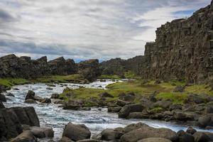 Parque Nacional de thingvellir na Islândia