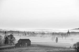 manhã nublada de Gettysburg