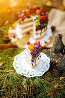 bolo de verão berry