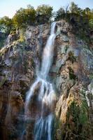 lagos plitvice. Croácia. cascata.