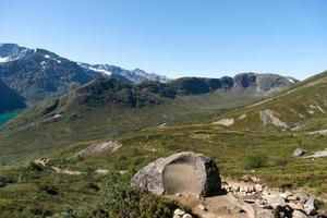 Besseggen Ridge no Parque Nacional Jotunheimen