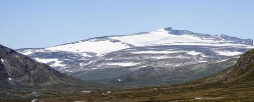 montanha glittertind (parque nacional jotunheimen, noruega)