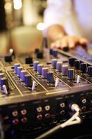 mixagem de DJ foto