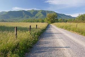 Sparks Lane, grande parque nacional de montanhas esfumaçadas