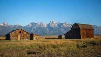 celeiro, mormon row, parque nacional grand teton