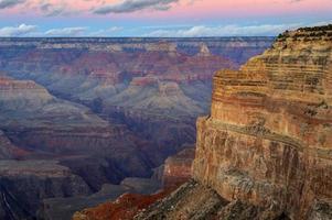 Grand Canyon no crepúsculo