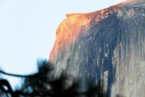 a cúpula em Yosemite
