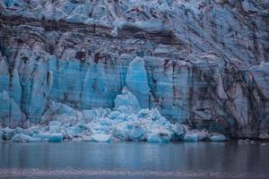 geleira no parque nacional da baía de geleira, Alasca