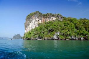 parque nacional na baía de phang nga, tailândia foto