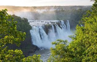 Parque Nacional das Cataratas do Iguaçu no lado do Brasil