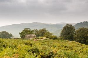celeiro de pedra no vale de duddon