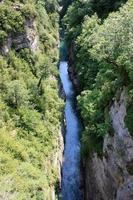 canyon do rio no parque nacional de ordesa