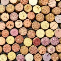 pontas de rolhas de vinho