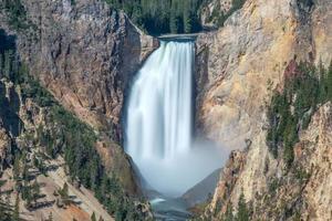 Grand Canyon of Yellowstone, Wyoming foto