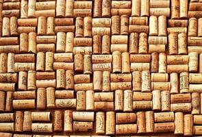 fundo de cortiça vinho