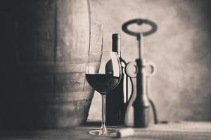 bom vinho - foto com efeito de foco seletivo de mudança de inclinação