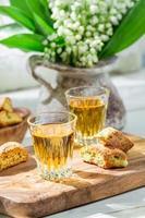 delicioso cantuccini com vin santo