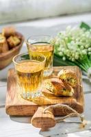 Biscotti delicioso com amendoim