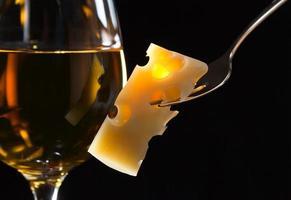 queijo e vinho foto