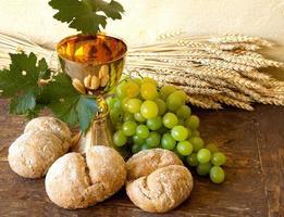 uvas para vinho sagrado foto